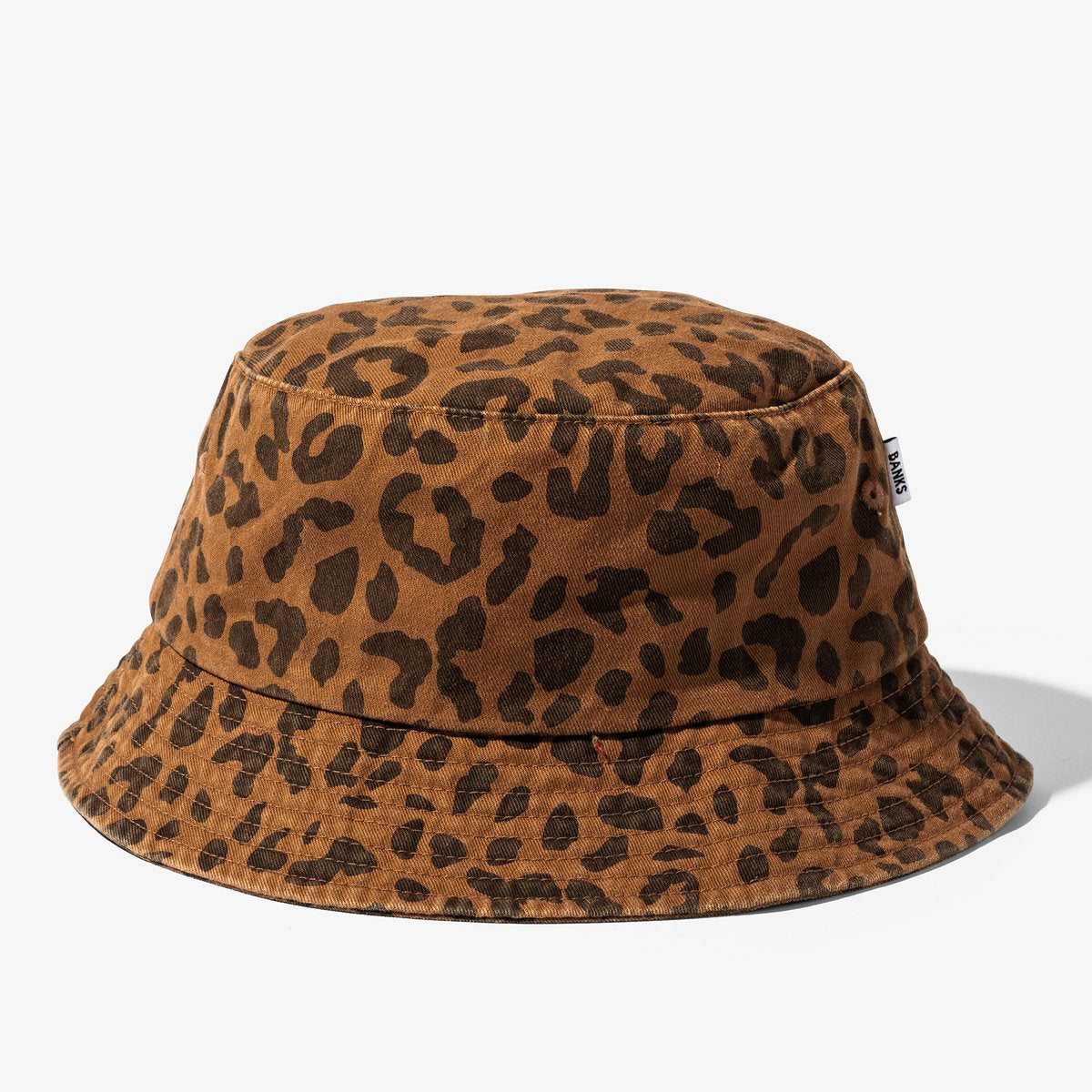 BANKS JOURNAL WILDER BUCKET HAT LEOPARD - 8586