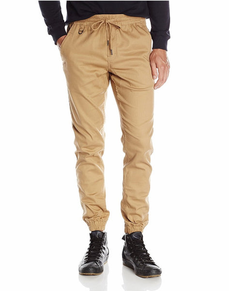 PUBLISH: KHAKI SPRINTER JOGGER PANTS - 85 86 eightyfiveightysix