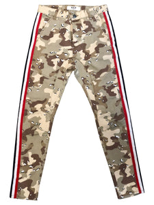 NXP: SERGEANT CHOCOLATE CHIP CAMO SLIM PANTS - 85 86 eightyfiveightysix