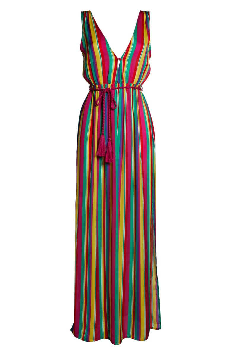 bb Dakota rainbow maxi dress - 8586