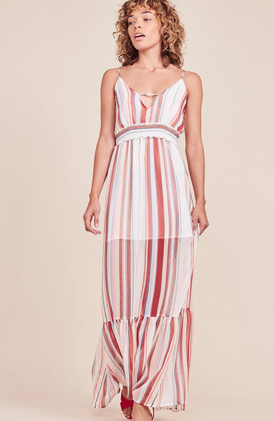 JACK BY BB DAKOTA: LUCIANA MAXI STRIPE DRESS - 85 86 eightyfiveightysix
