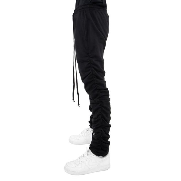 EPTM MENS BLACK WRINKLE SWEATS - 8586
