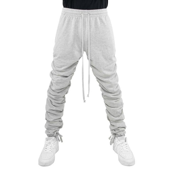 eptm wrinkle grey mens  sweatpants - 8586
