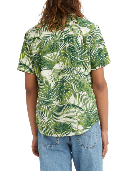 levis mens floral button up vacation shirt - 8586