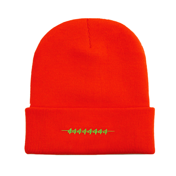 NI4 ORANGE BEANIE - 8586