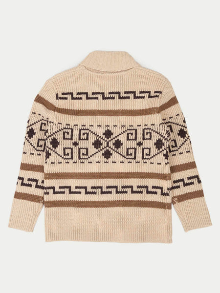 PENDLETON: THE ORIGINAL WESTERLY WOOL ZIP SWEATER - 85 86 eightyfiveightysix