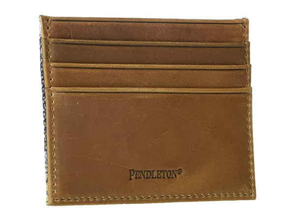 PENDLETON CRESCENT BAY LEATHER CARD CASE - 8586
