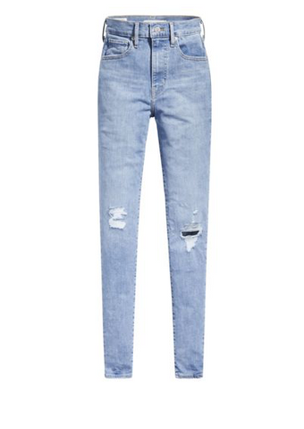 LEVIS MILE HIGH SUPER SKINNY JEAN GALAXY FAR AWAY - 8586