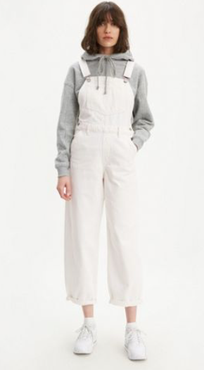 LEVIS BAGGY OVERALL SEEDED RINSE - 8586