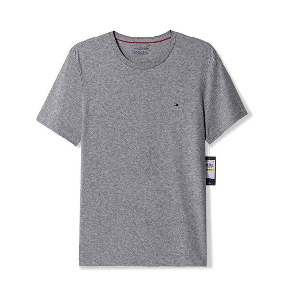 Tommy Hilfiger GRAY CORE FLAG T-SHIRT - 8586
