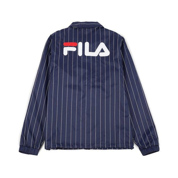 FILA HERITAGE: AUSTIN STRIPED COACH JACKET - 85 86 eightyfiveightysix