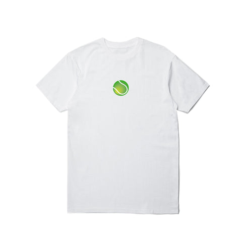 PUBLISH VERSUS PRINCE TENNIS BALL COURT WHITE TEE - 85 86 eightyfiveightysix
