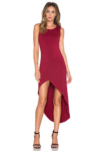 BISHOP + YOUNG : HALEY MAXI DRESS BURGUNDY - 85 86 eightyfiveightysix