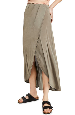 FREE PEOPLE SMOKE & MIRRORS MAXI SKIRT - 8586