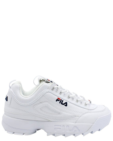 FILA MENS DISRUPTOR 2 WHITE SHOES - 8586