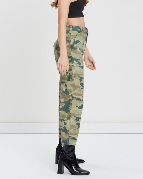 FREE PEOPLE CAMO PANTS - 8586