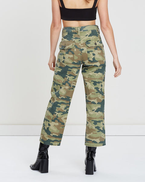 FREE PEOPLE REMY CROP PANTS - 8586