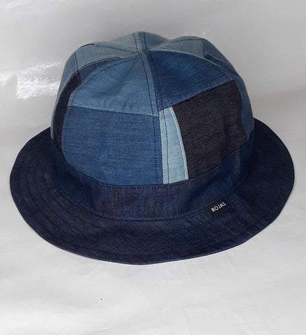 blue denim jean bucket hat unisex - 8586