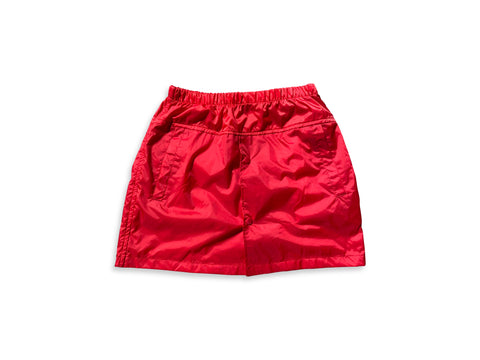 ROJAS: WINDBREAKER MINI SKIRT