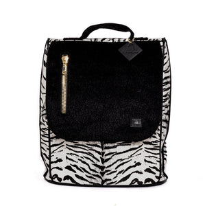 TOTE N CARRY: ZEBRA PRINT APOLLO BACKPACK