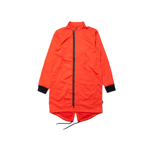 PUBLISH BRAND: YAIR ORANGE TRENCH COAT JACKET - 85 86 eightyfiveightysix