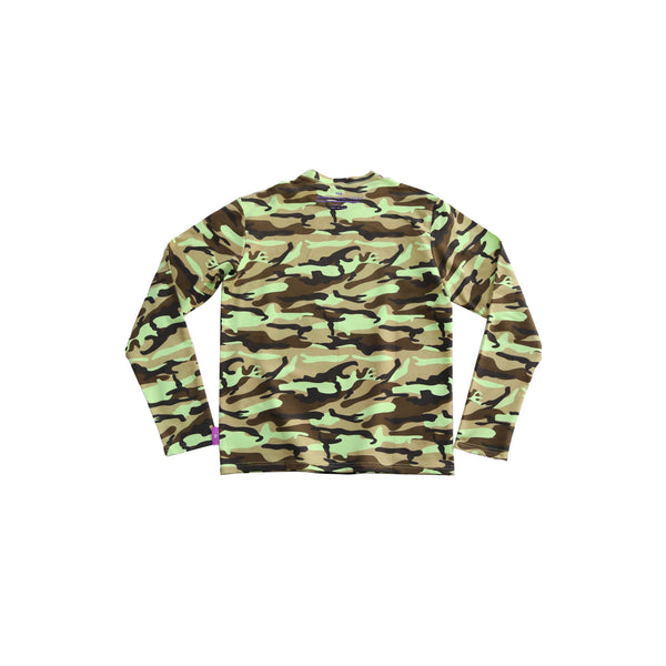mens long sleeve camouflage t-shirt - 8586