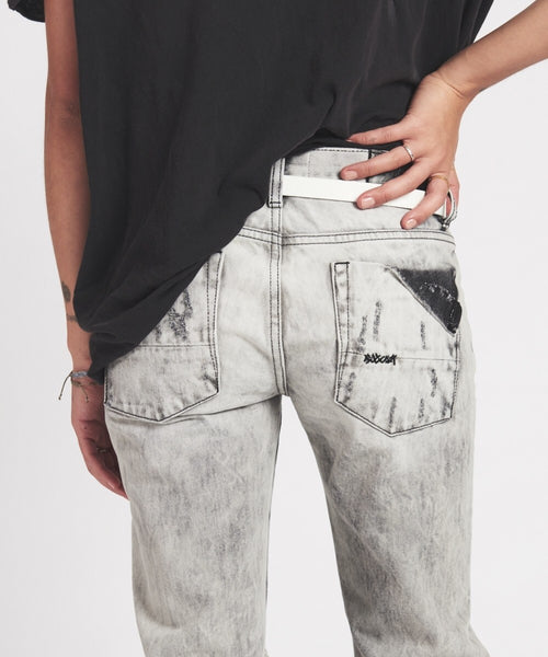 ONE TEASPOON: FREEBIRDS HARLEY GRAY SKINNY JEAN - 85 86 eightyfiveightysix