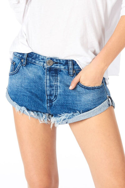 ONE TEASPOON: PACIFICA BANDITS CUT OFF SHORTS - 85 86 eightyfiveightysix