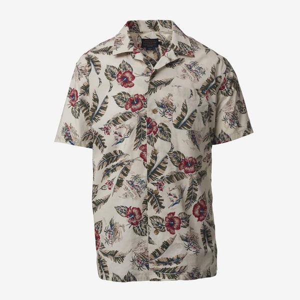 PENDLETON: SHORT SLEEVE ALOHA PRINTED SHIRT