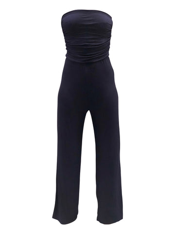 double zero wideleg jumpsuit - 8586