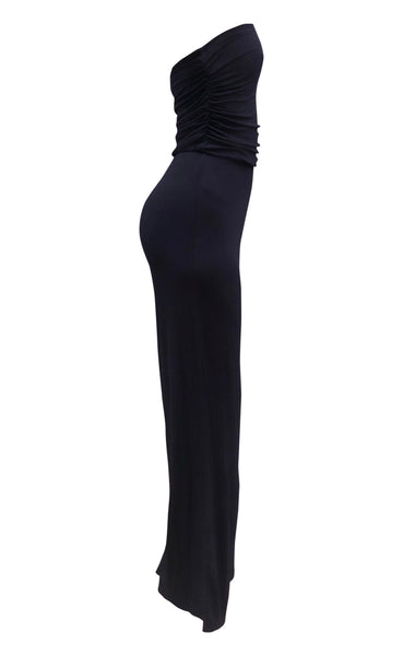 womens navy blue jumpsuit -8586