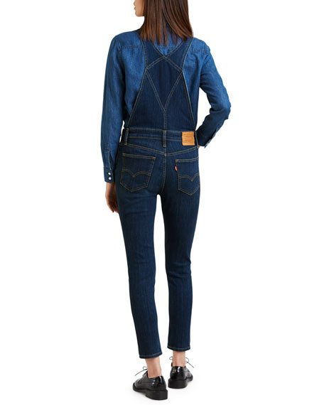 LEVIS WOMENS JEAN OVERALL - 8586