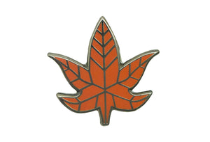 PINTRILL: MAPLE LEAF PIN - 85 86 eightyfiveightysix