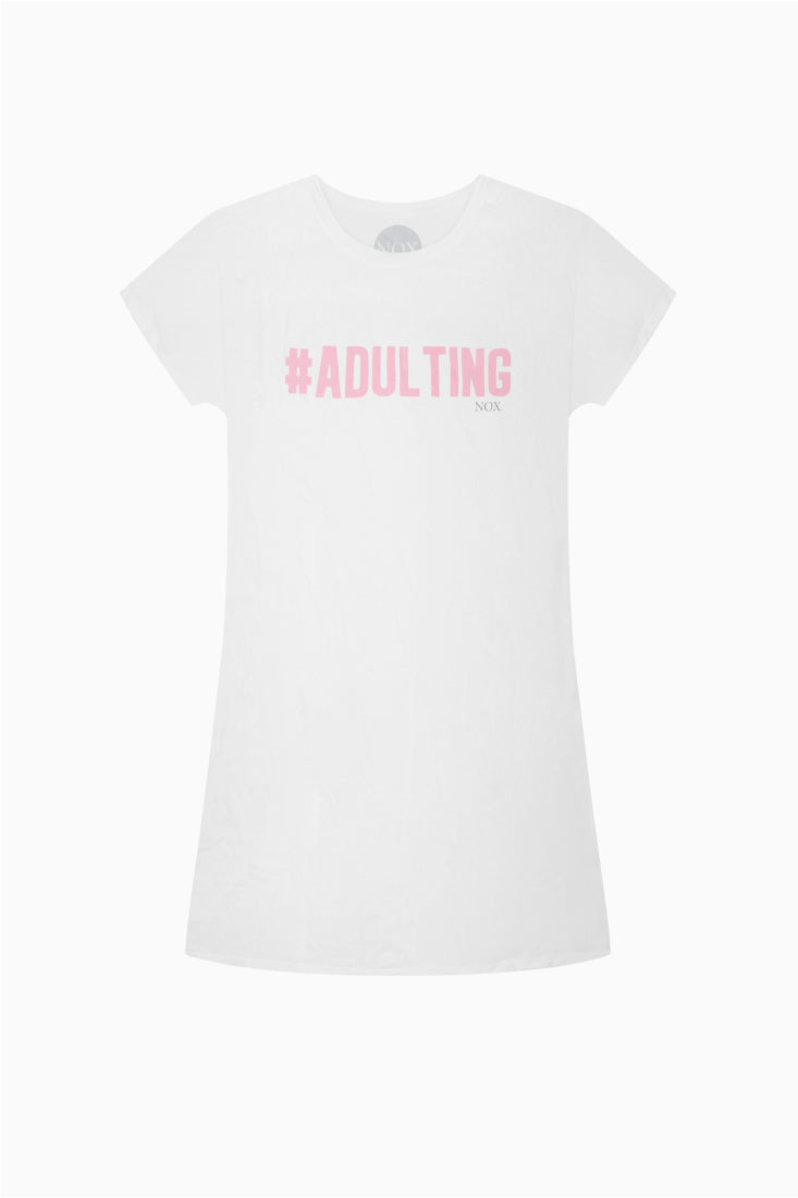 #ADULTING SLEEP TEE