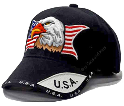 American Flag, Bald Eagle, Patriotic USA