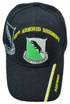 CLEARANCE U.S. Army Baseball Cap 69th Armor Regiment Hat Black Panthers History
