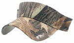 Camouflage Golf Visor Camo Hunting Visors Military Tree Branches Sticks and Leaf
