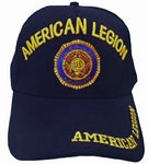 CLEARANCE American Legion Baseball Cap Navy Blue Patriotic Hat