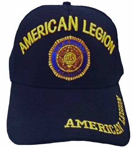A.Legion Baseball Cap Navy Blue Patriotic Hat