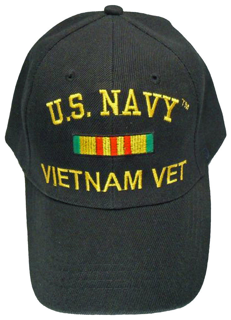 US Navy Vietnam Veteran Baseball Cap Black Military Hat for Men Women – Buy  Caps and Hats 8684fe184a