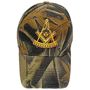 Mason Hat Camouflage Past Master Baseball Cap with Masonic Logo Freemasons Shriners Prince Hall Lodge Headwear