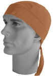 Doo Rag Orange Bandana Du Head Wrap Motorcycle Skull Cap Cotton Dew