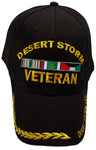 DESERT STORM Black Baseball Cap Hat Army Navy Air Force Marine