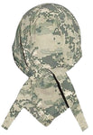 Camouflage ACU Desert Digital Head Wrap Doo Rag Camo Durag Skull Cap Cotton Sporty Motorcycle Hat