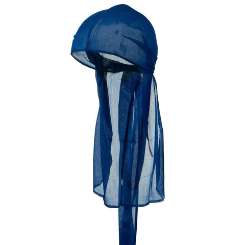 CLEARANCE Royal Blue Wave Cap Sexy Tie Down Durag Cap Cool Nylon Sporty and Fashionable Long and Short Hair