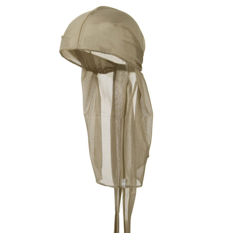 CLEARANCE Tan Wave Cap Sexy Tie Down Durag Cap Cool Nylon Sporty and Fashionable Long and Short Hair