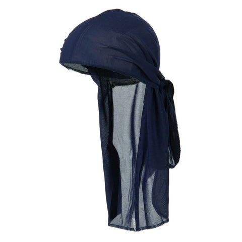 CLEARANCE Navy Blue Wave Cap Sexy Tie Down Durag Cap Cool Nylon Sporty and Fashionable Long and Short Hair