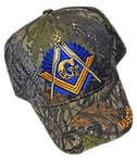 Mason Hat Camouflage Baseball Cap with Master Masonic Logo Freemasons Shriners Prince Hall Camo Lodge Headwear
