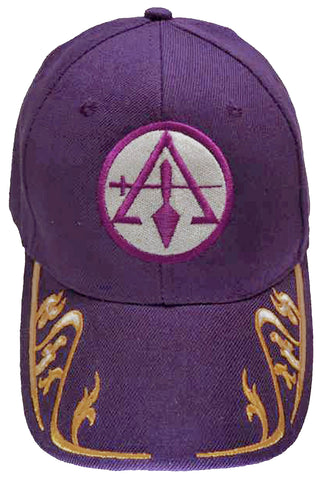 Council of Cryptic Masons Cap Mason Purple and Gold Hat Trowel and Sword Baseball Cap Masonic