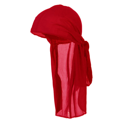 CLEARANCE Red Wave Cap Sexy Tie Down Durag Cap Cool Nylon Sporty and Fashionable Long and Short Hair